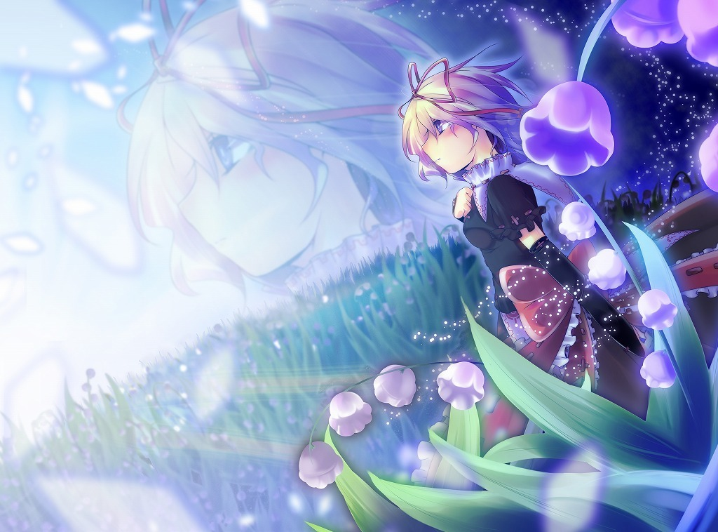 touhou medicine melancholy Anime HD Wallpaper