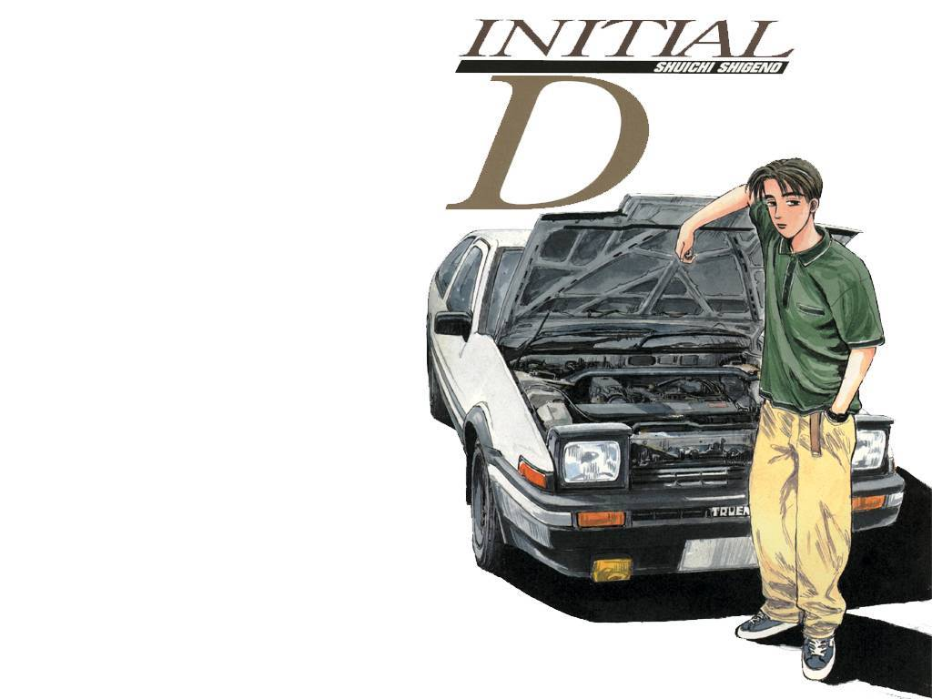 Toyota initial Anime HD Wallpaper