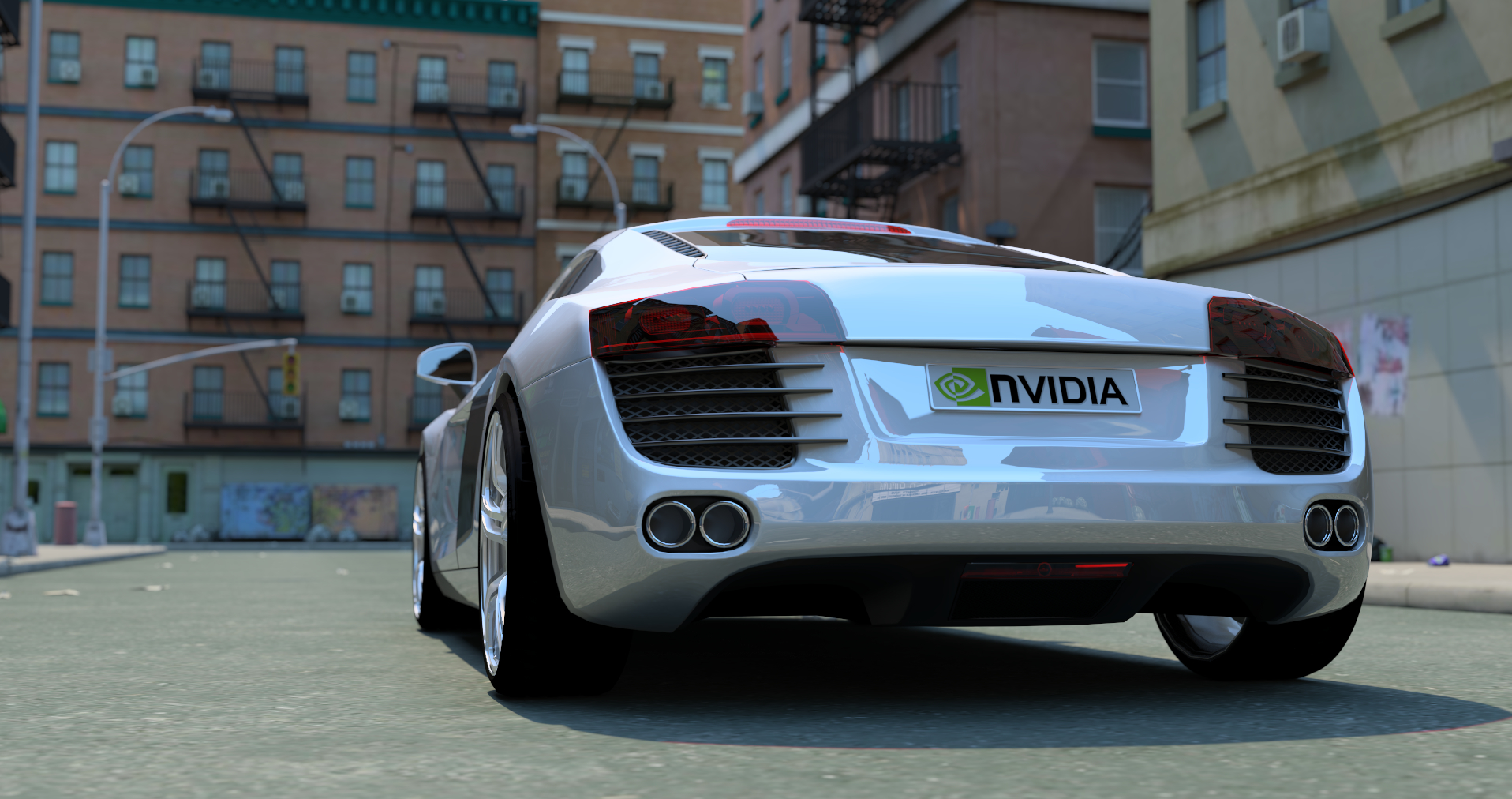 tracing computer cars nvidia HD Wallpaper