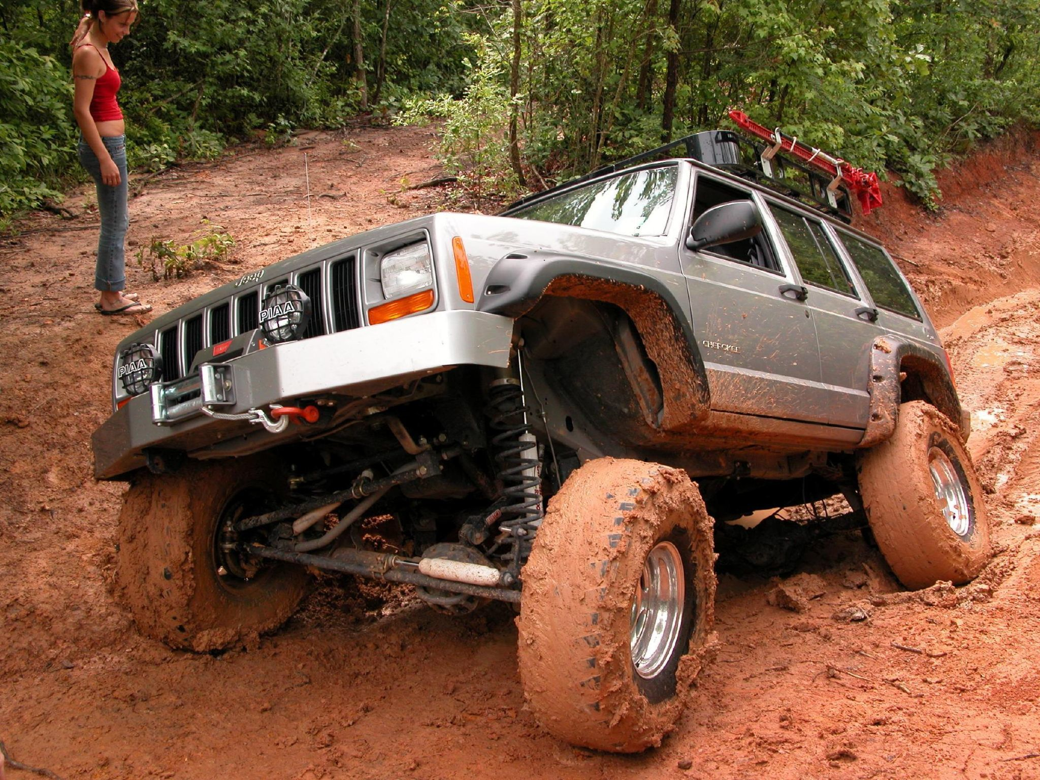 trail mudvayne mud jeep HD Wallpaper