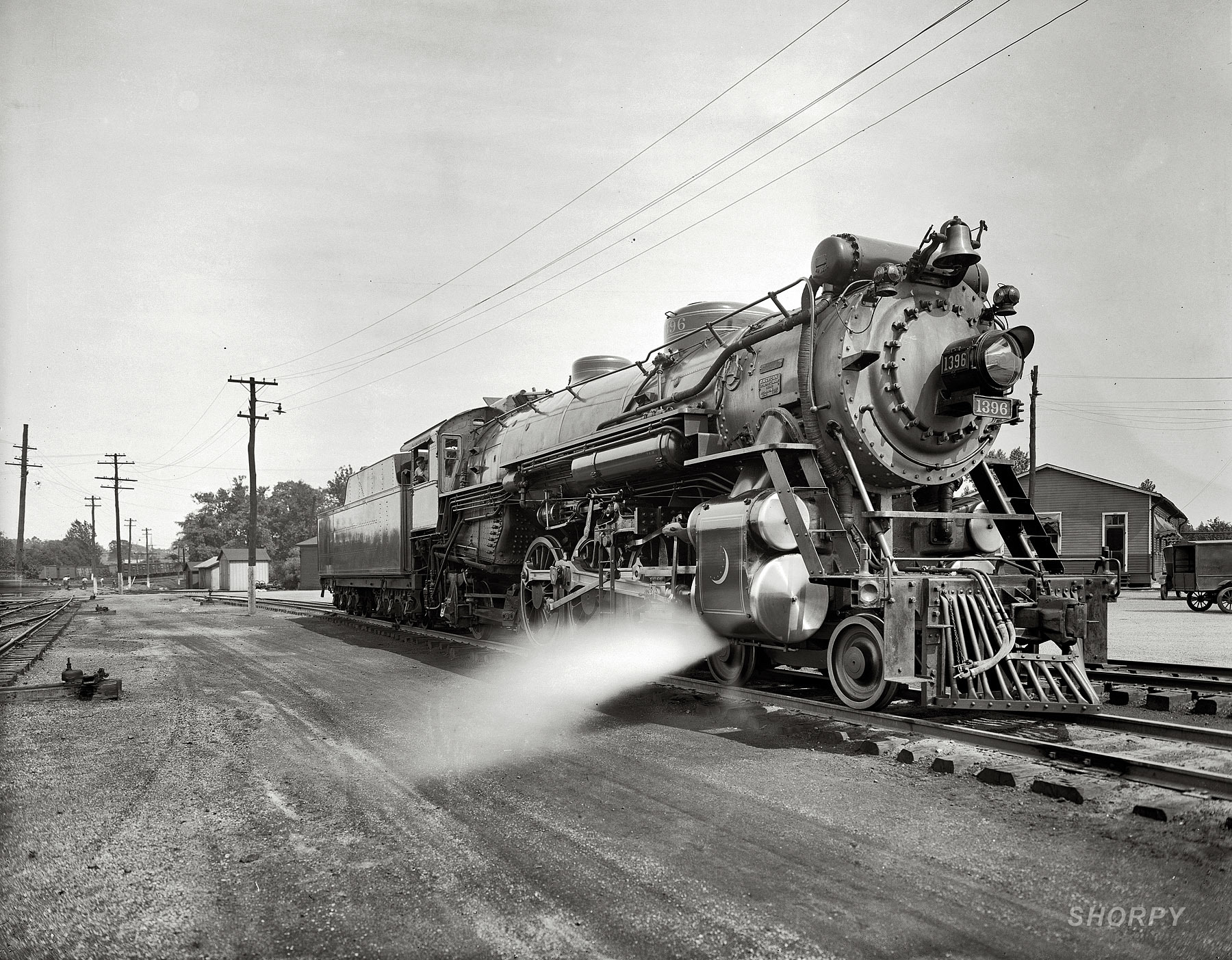 trains grayscale monochrome steam HD Wallpaper