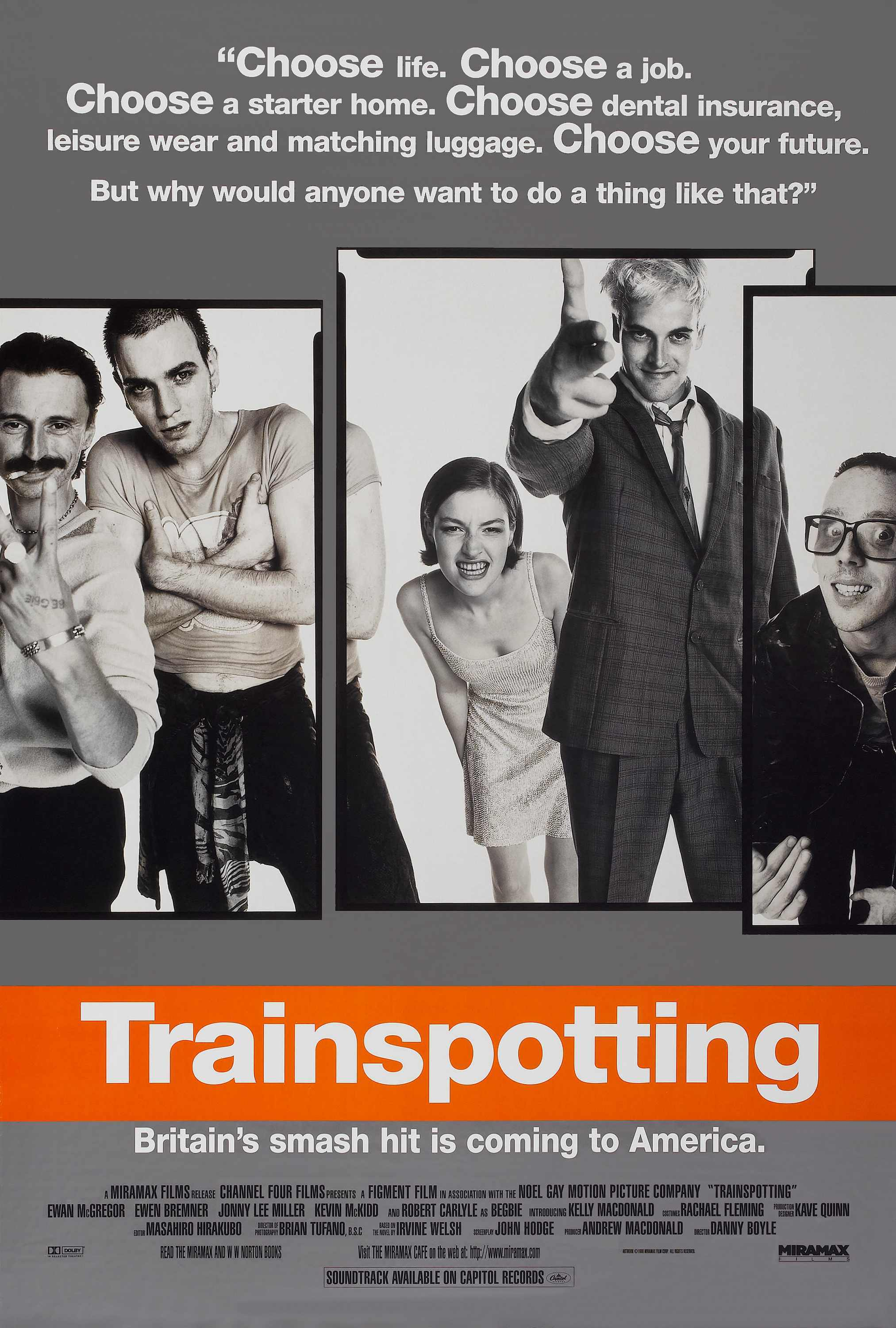 Trainspotting ewan mcgregor selective HD Wallpaper
