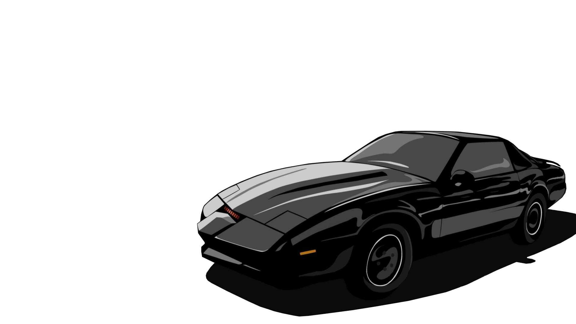 trans am knight rider HD Wallpaper