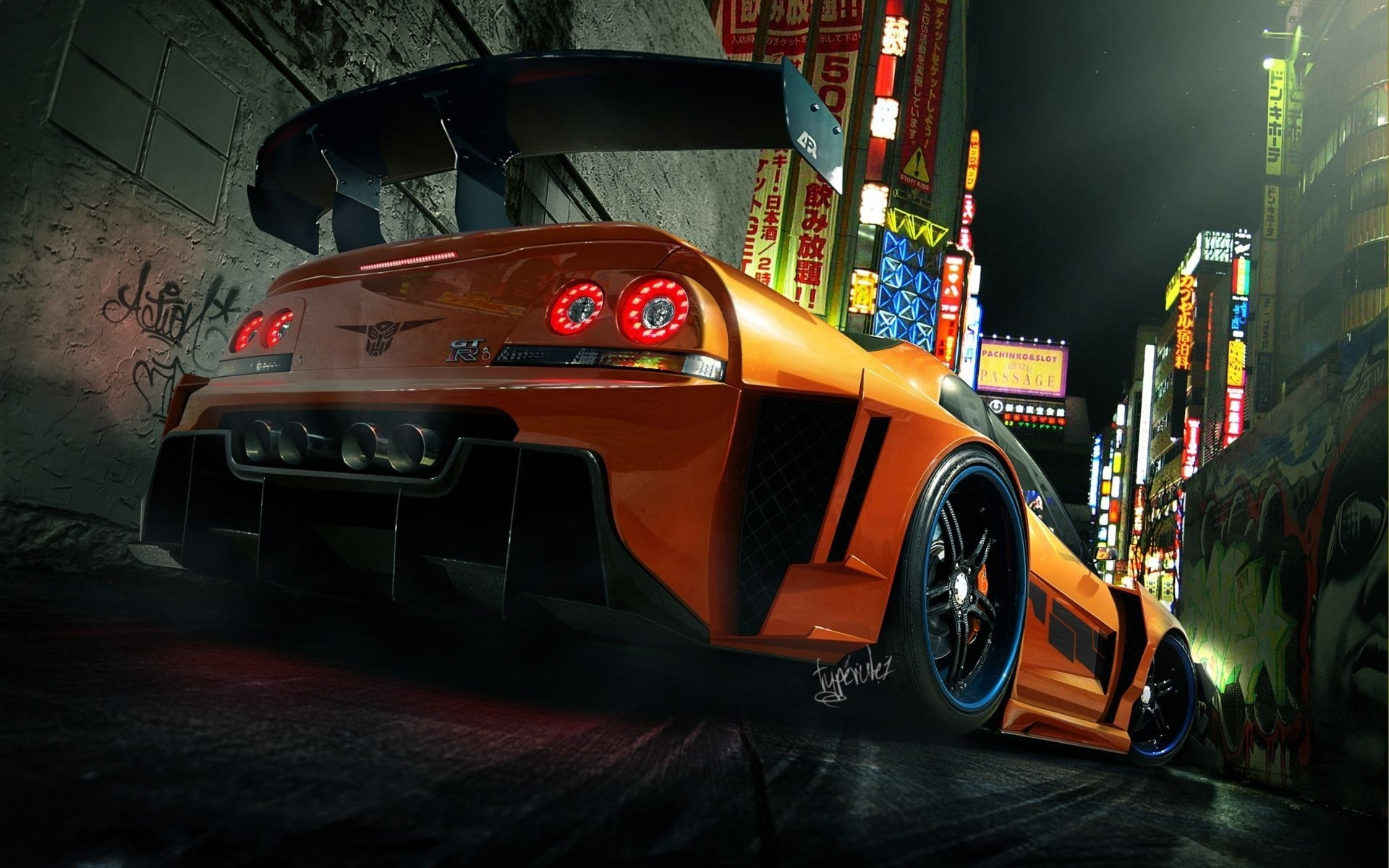 Transformers cars deviantart Nissan HD Wallpaper