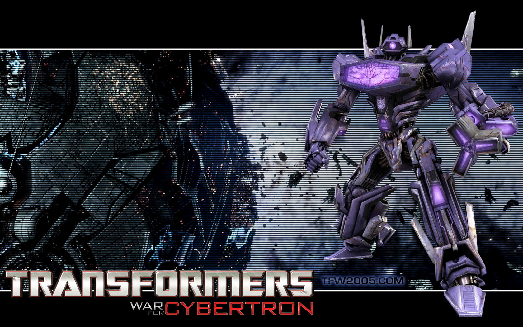 Transformers shockwave HD Wallpaper