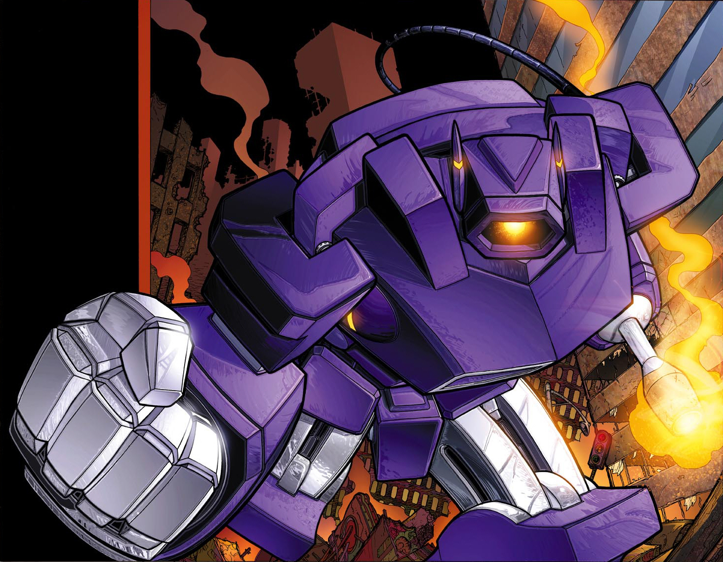 Transformers shockwave cartoon HD Wallpaper