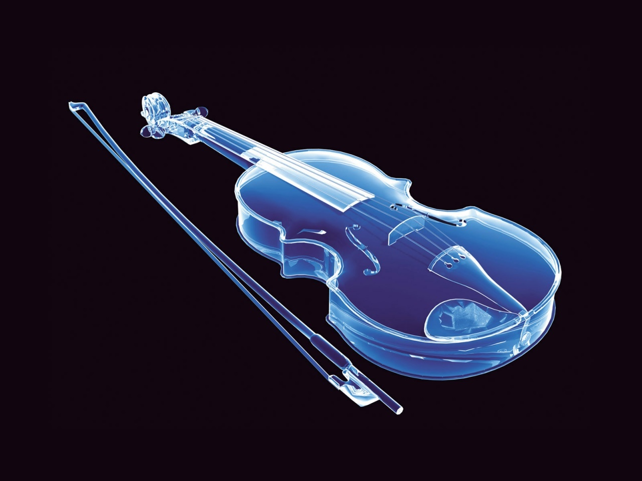 transparent violins violin neon HD Wallpaper