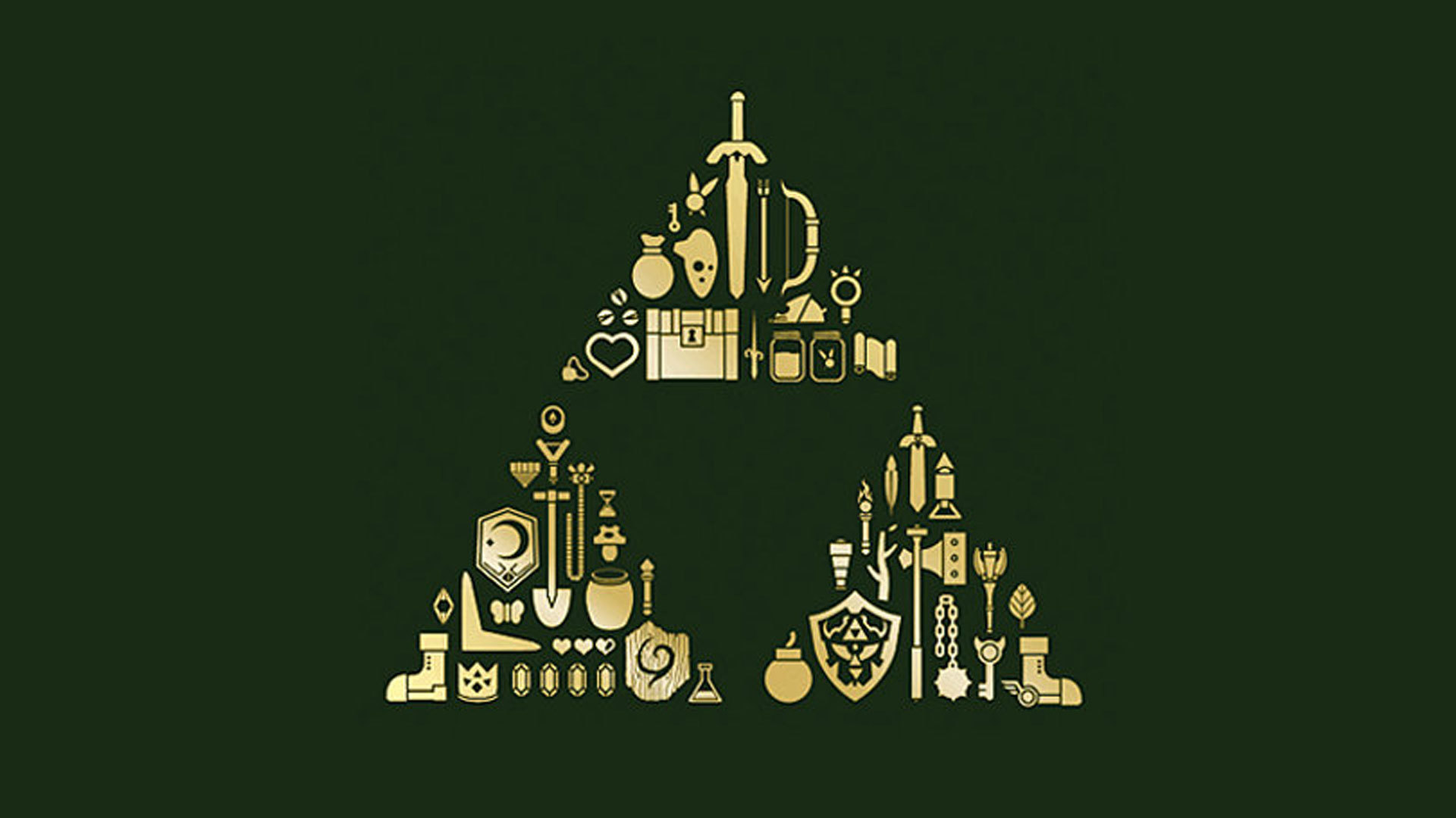 triforce the legend of