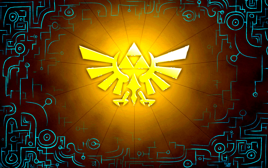 triforce The legend of HD Wallpaper