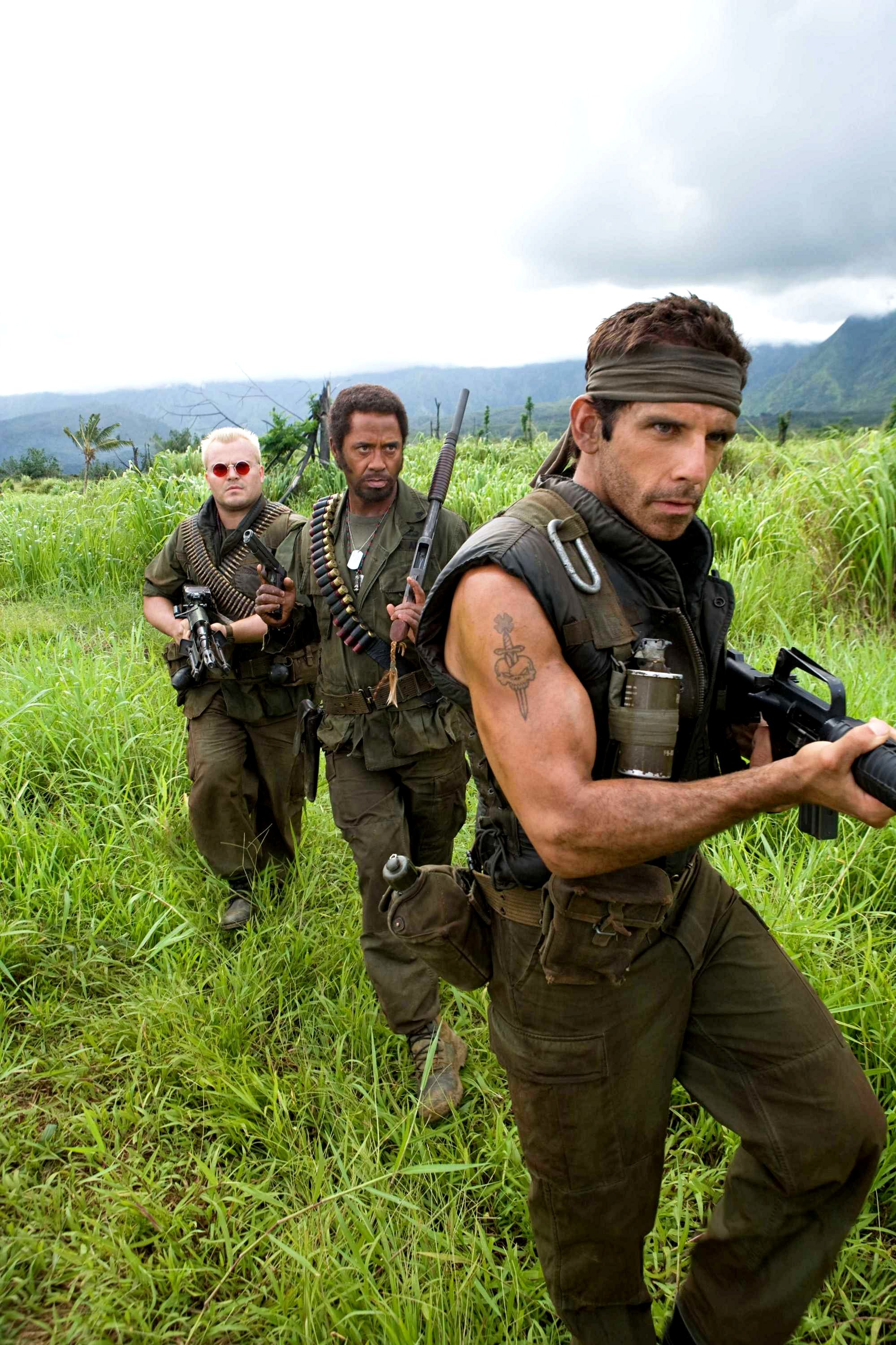 Tropic Thunder ben stiller HD Wallpaper