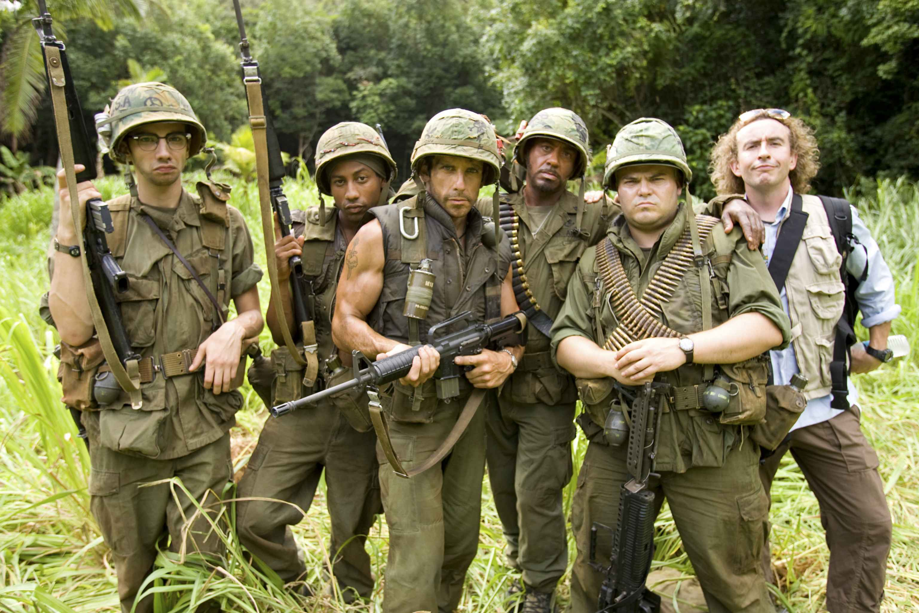 Tropic Thunder jack black HD Wallpaper