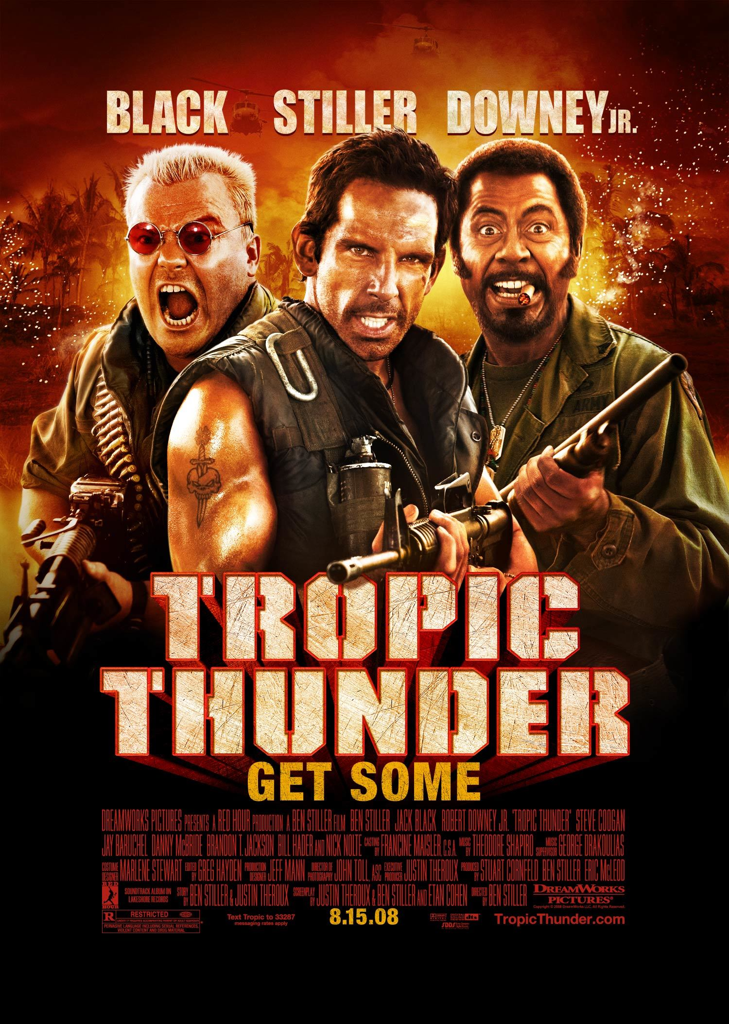 tropic thunder Movie posters HD Wallpaper