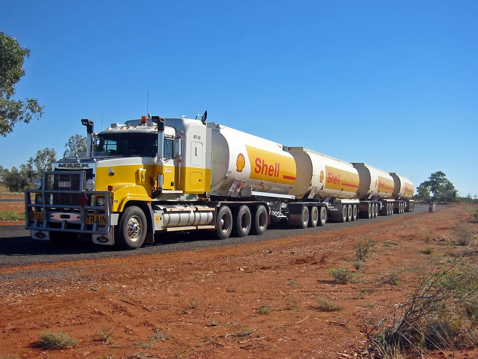trucks Tankers Road train HD Wallpaper