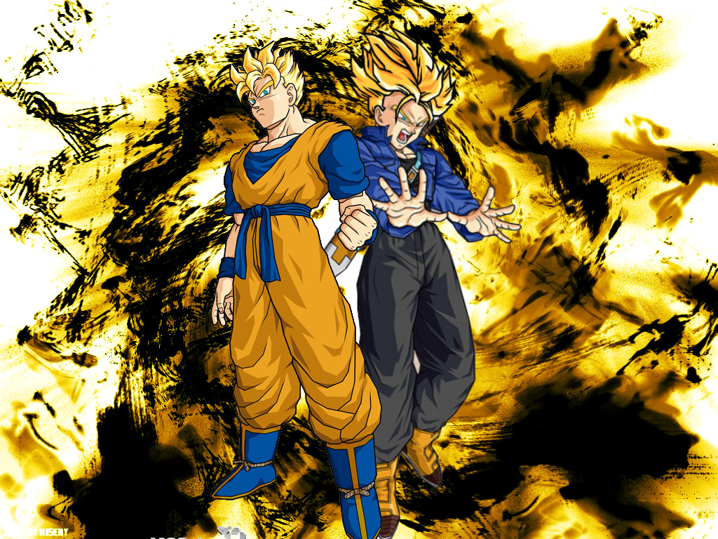 trunks son gohan dragon HD Wallpaper