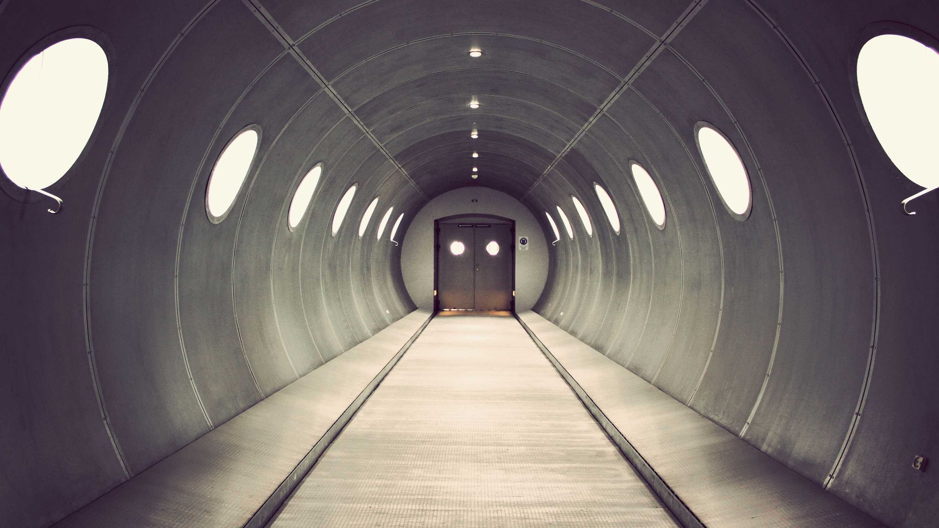 tunnels HD Wallpaper