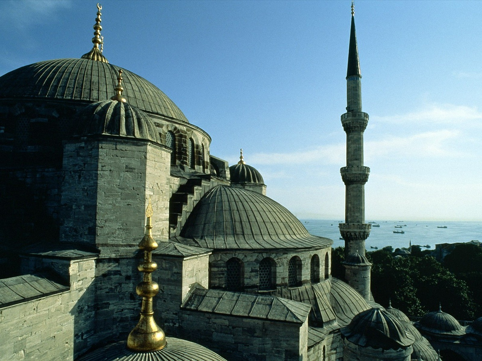 Turkey Istanbul Sultanahmet mosques HD Wallpaper
