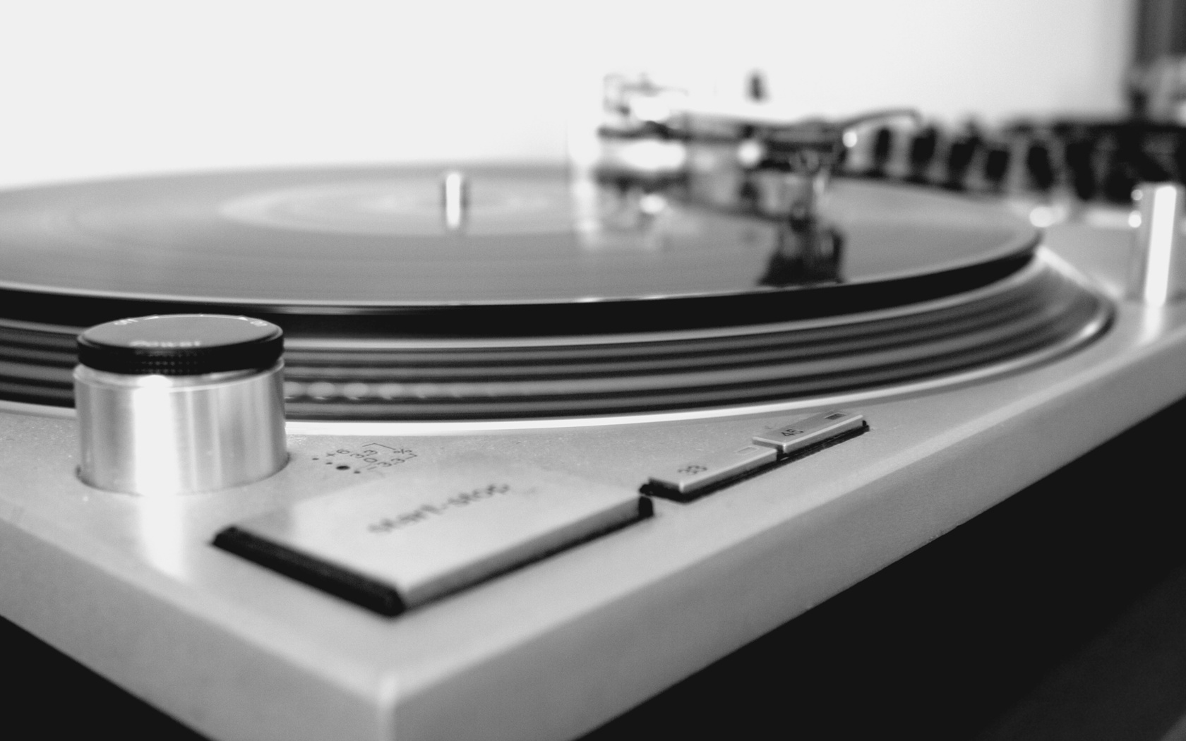 turntable record player HD Wallpaper