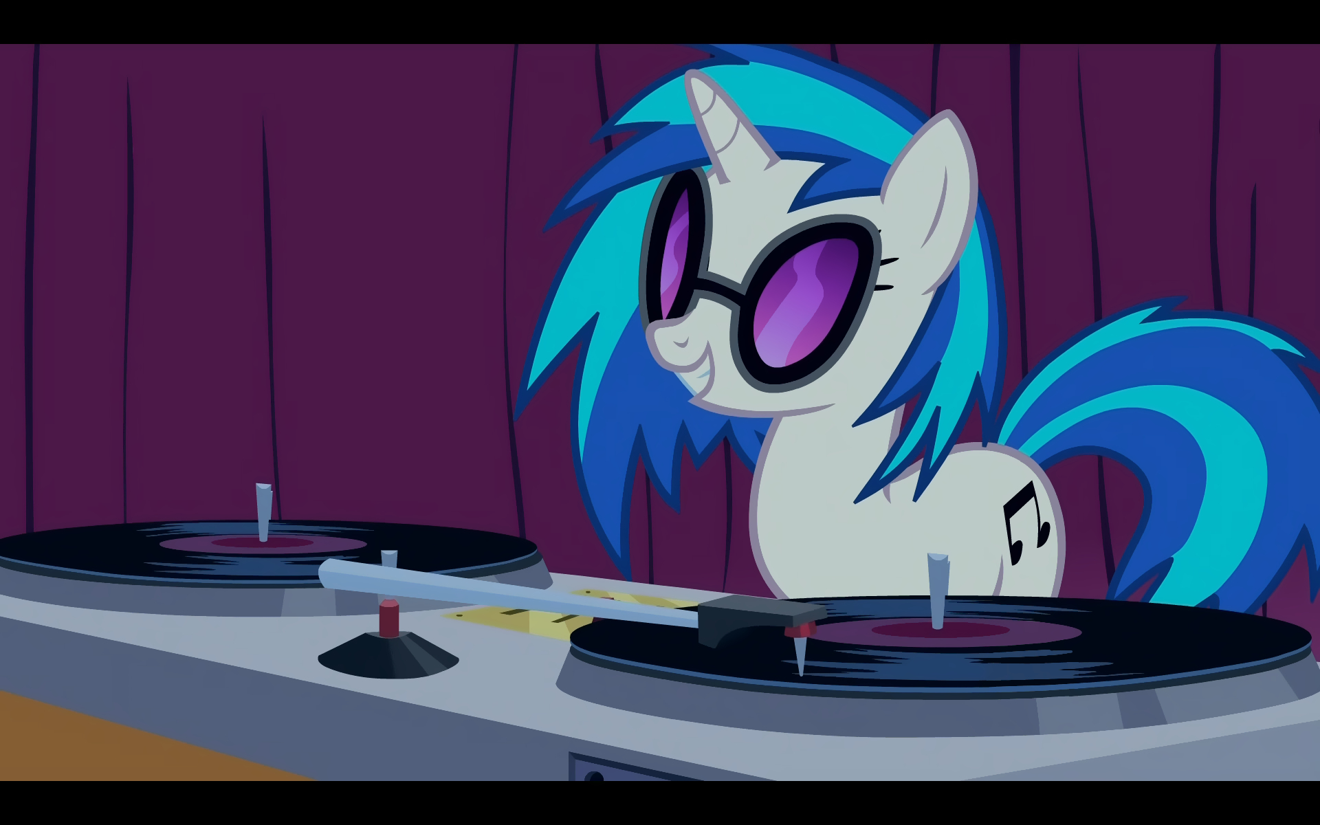 turntables My little pony HD Wallpaper