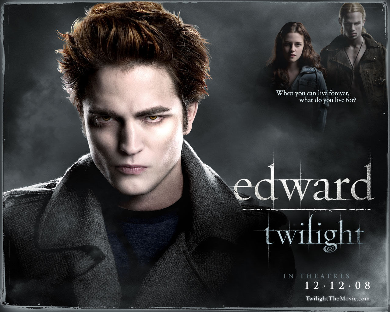 twilight edward cullen HD Wallpaper
