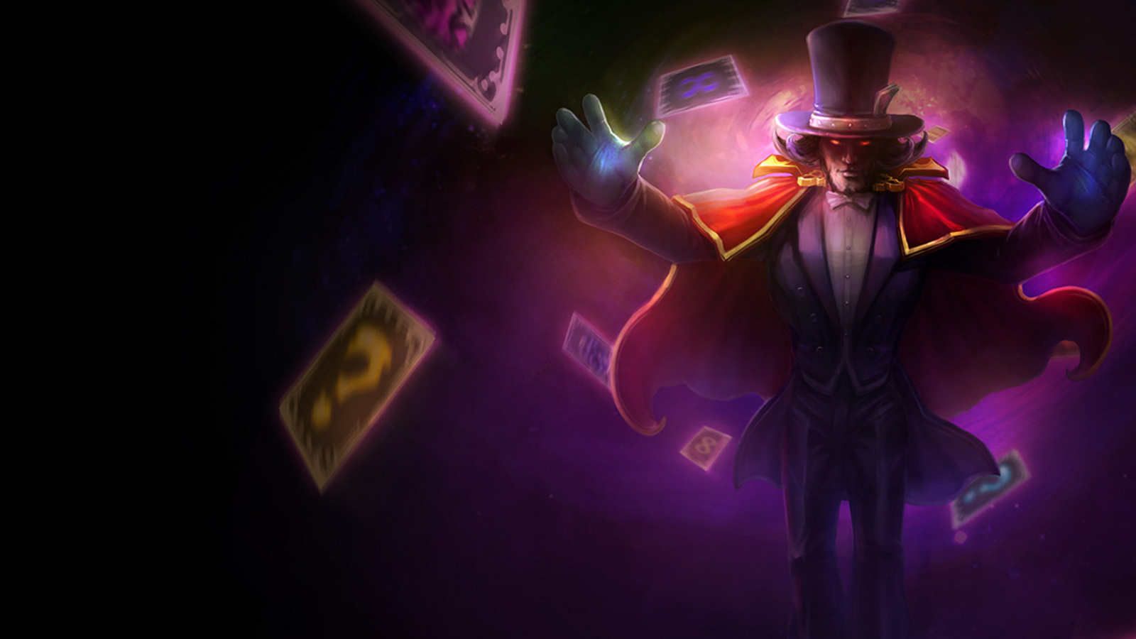 Twisted fate magnificent wp HD Wallpaper