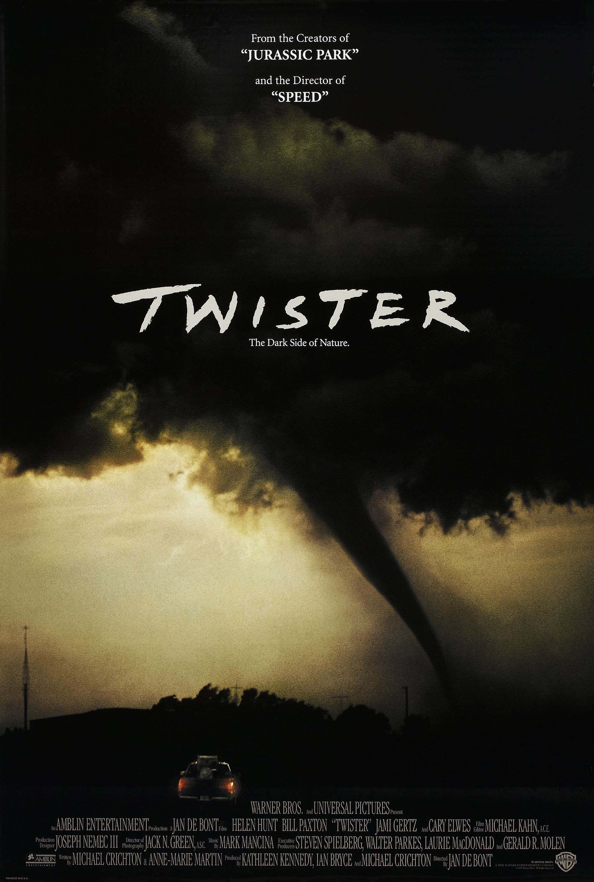 Twister movie posters HD Wallpaper