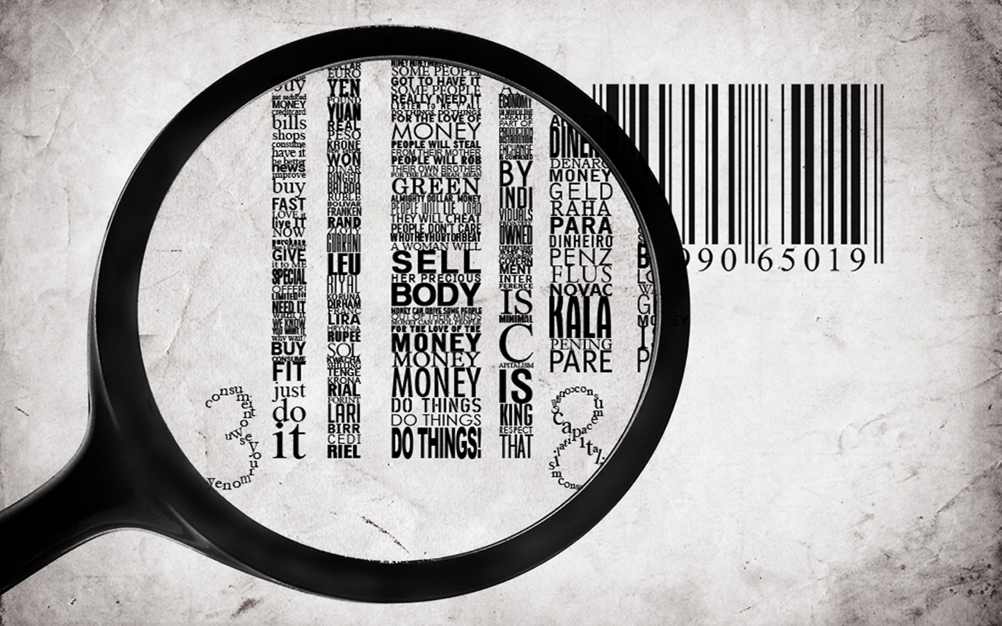 Typography barcode facts