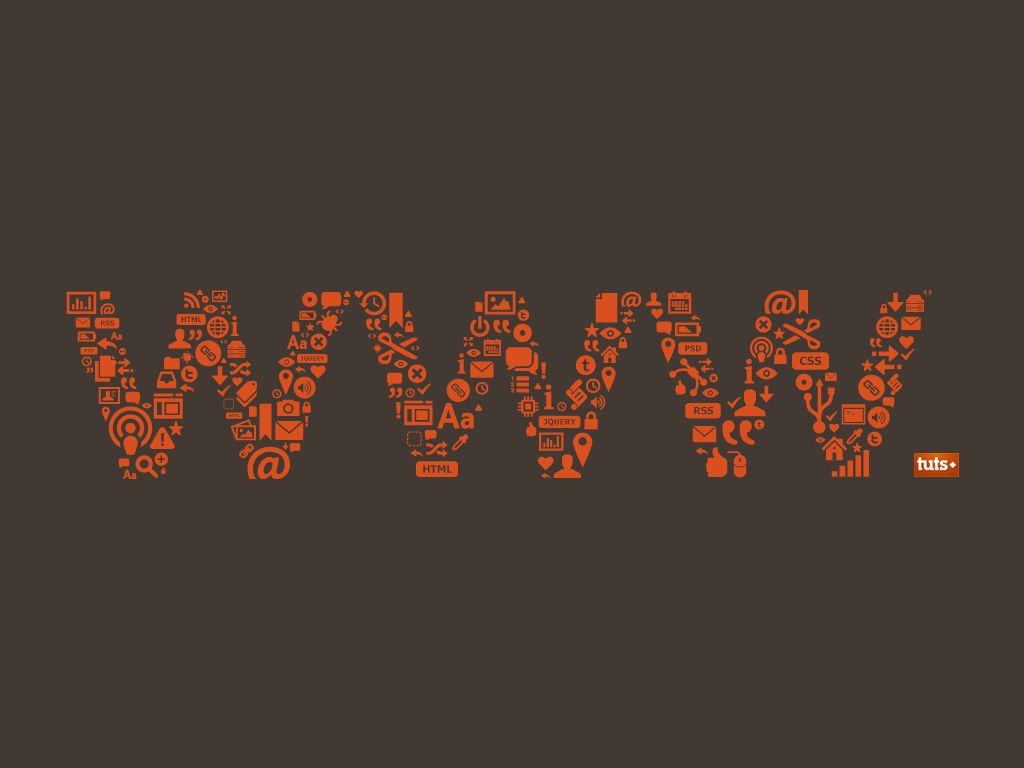 Typography web design HD Wallpaper
