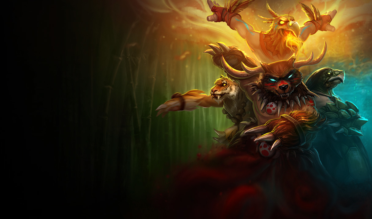 Udyr splash resize please HD Wallpaper
