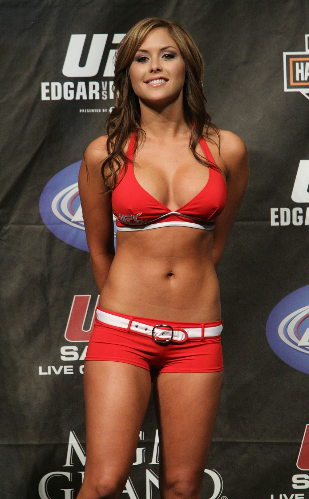 ufc Brittney Palmer Ring HD Wallpaper