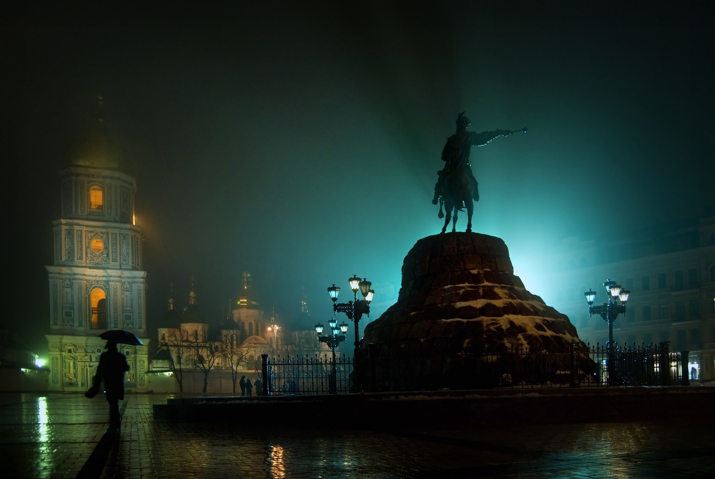Ukraine HDR Photography Kiev HD Wallpaper
