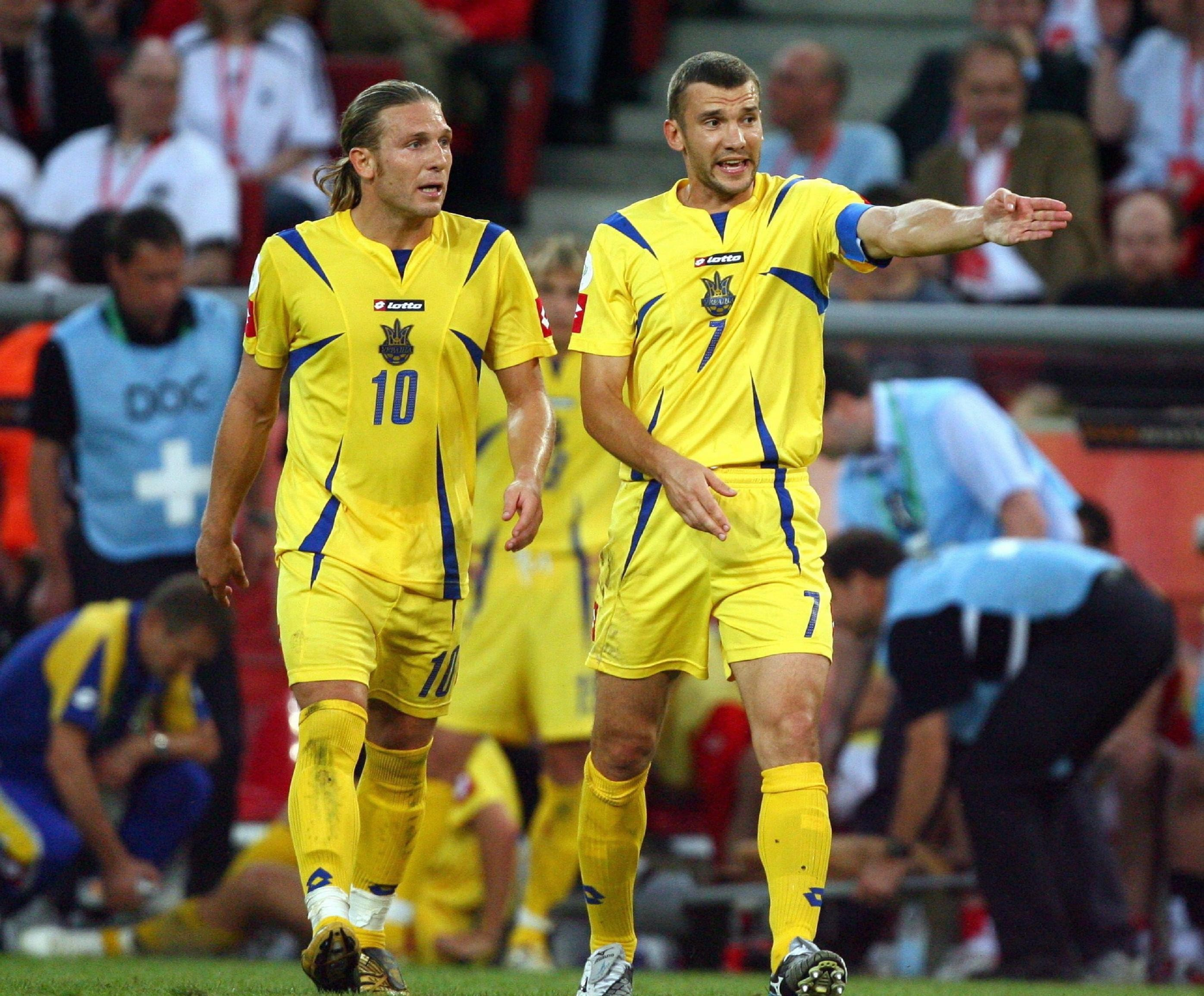 Ukraine World Cup Shevchenko HD Wallpaper