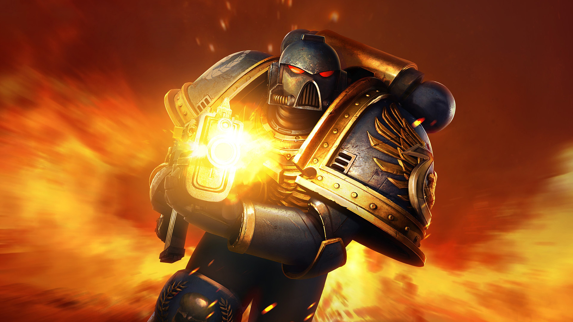 Ultramarines Space Marine ultramarine HD Wallpaper