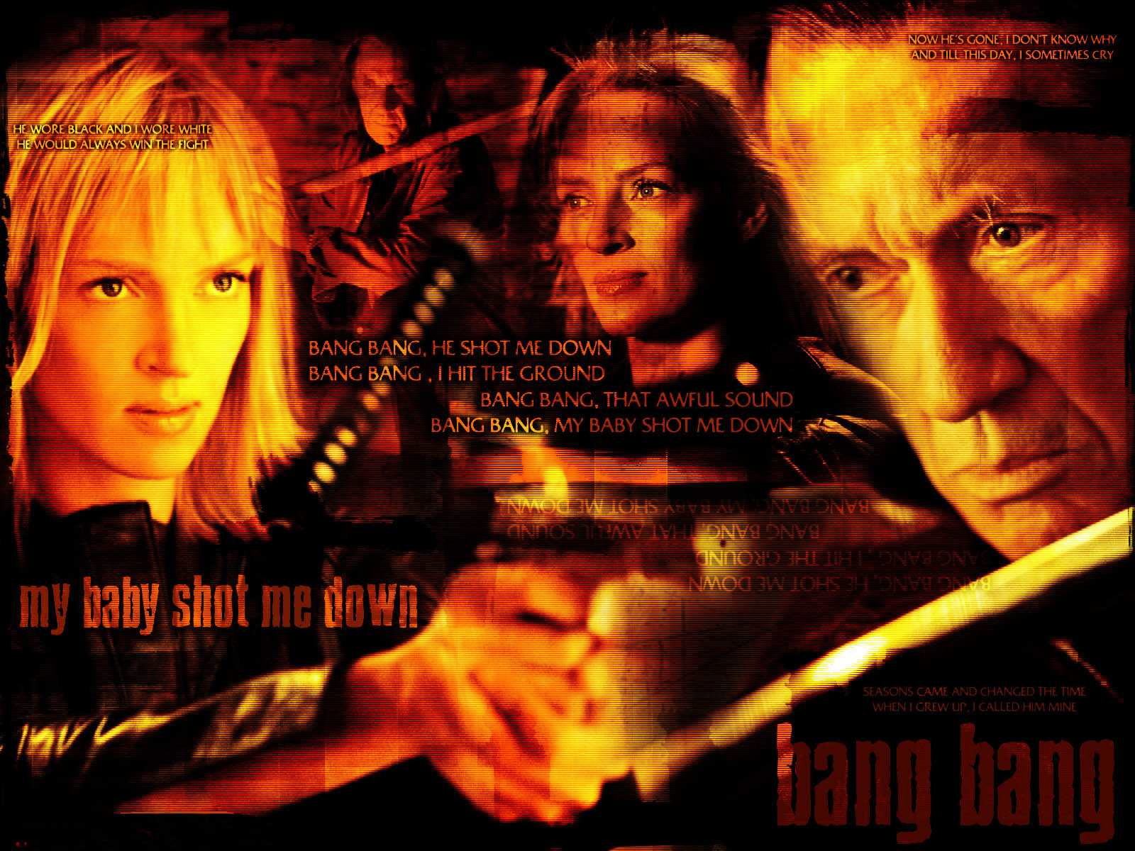 Uma Thurman Kill Bill HD Wallpaper