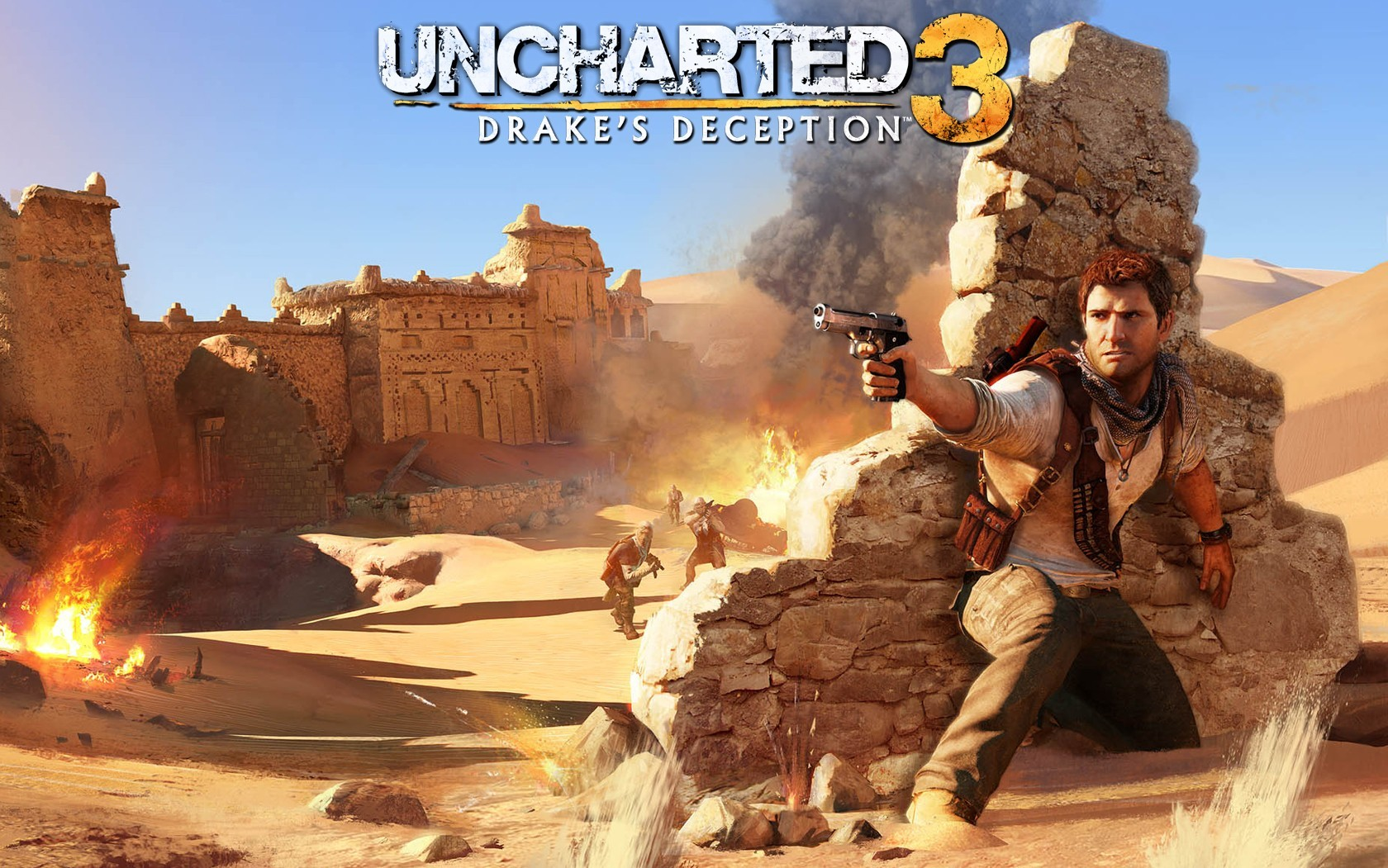 Uncharted 3 video games HD Wallpaper