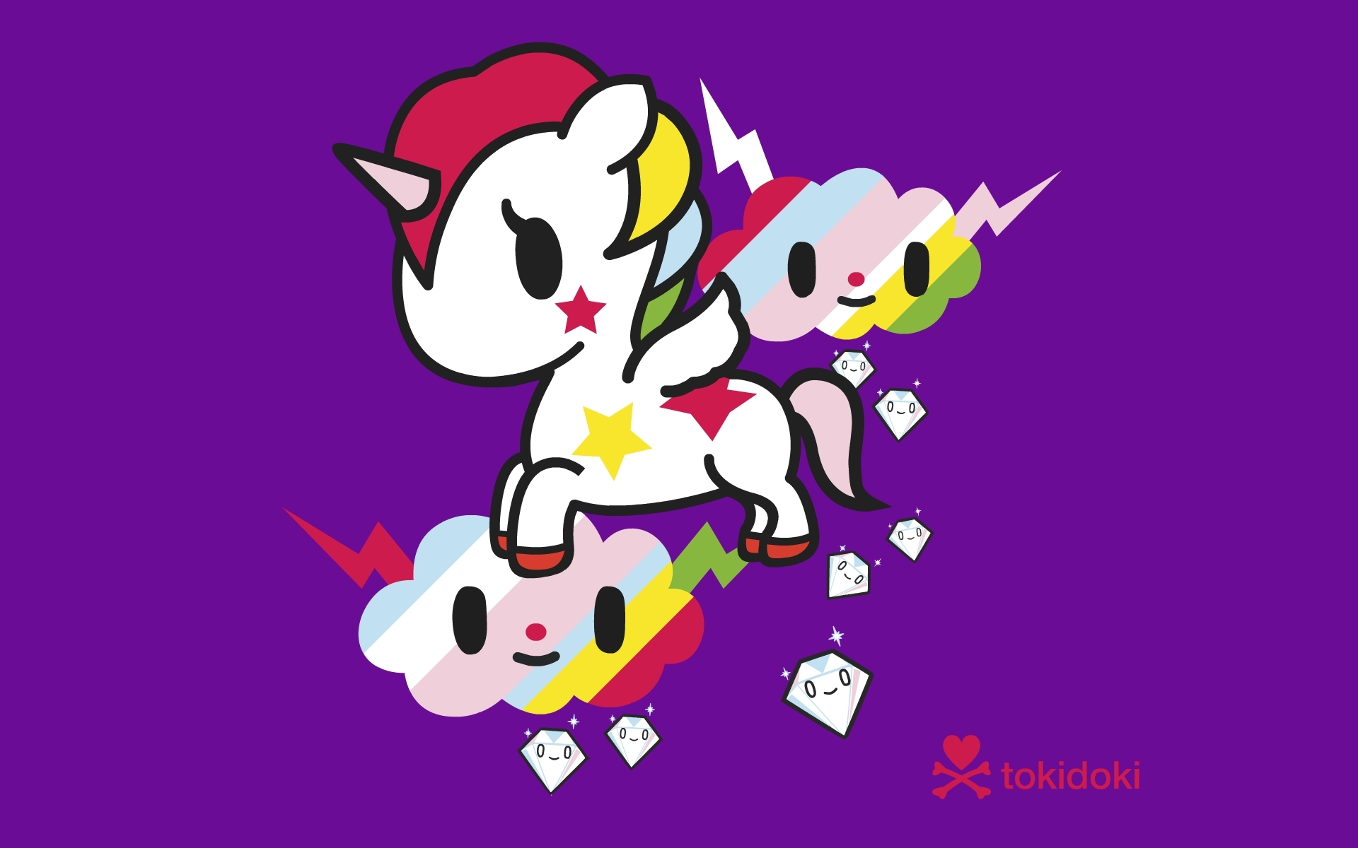 unicorns tokidoki HD Wallpaper