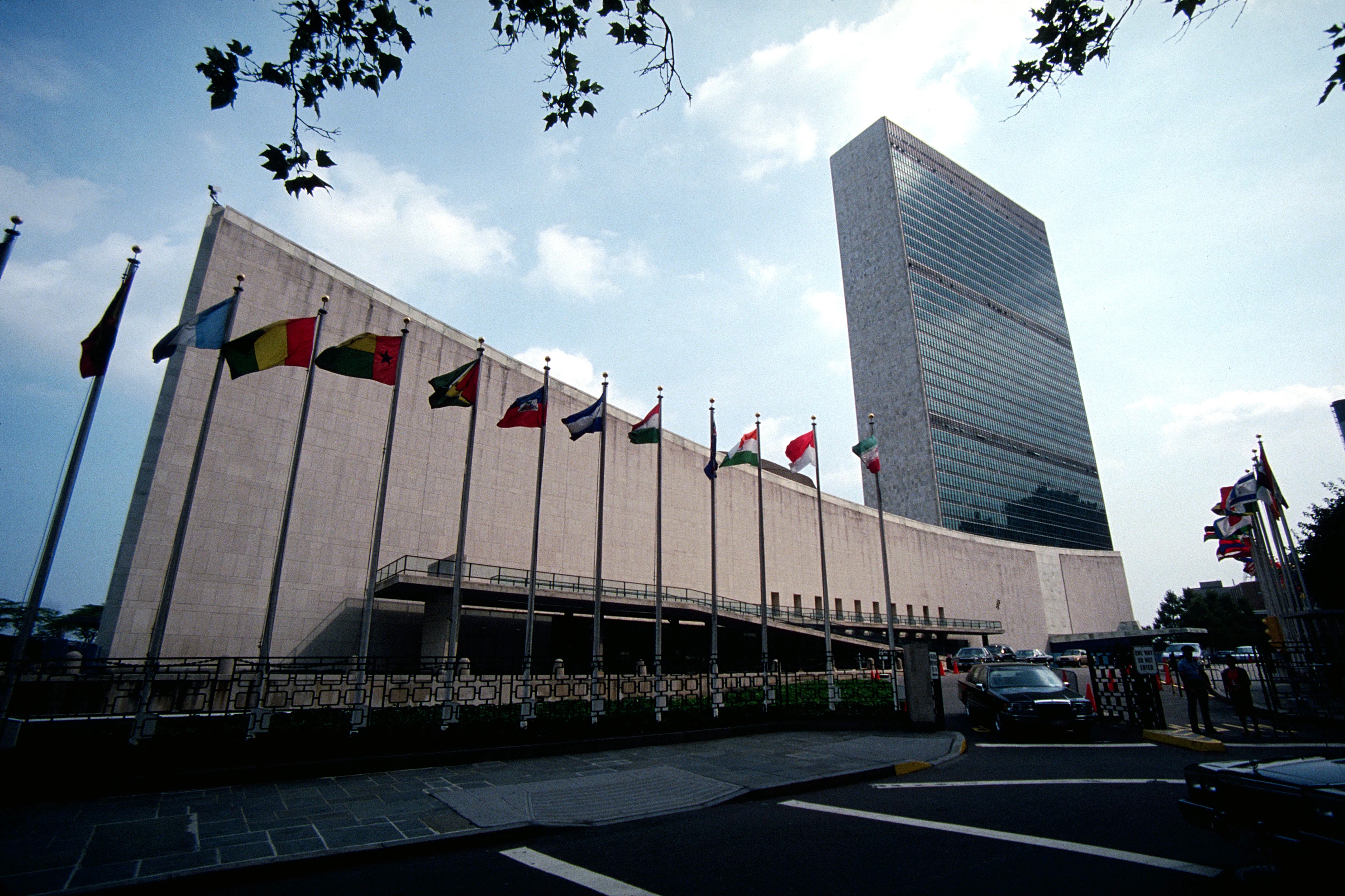 united nations building high HD Wallpaper