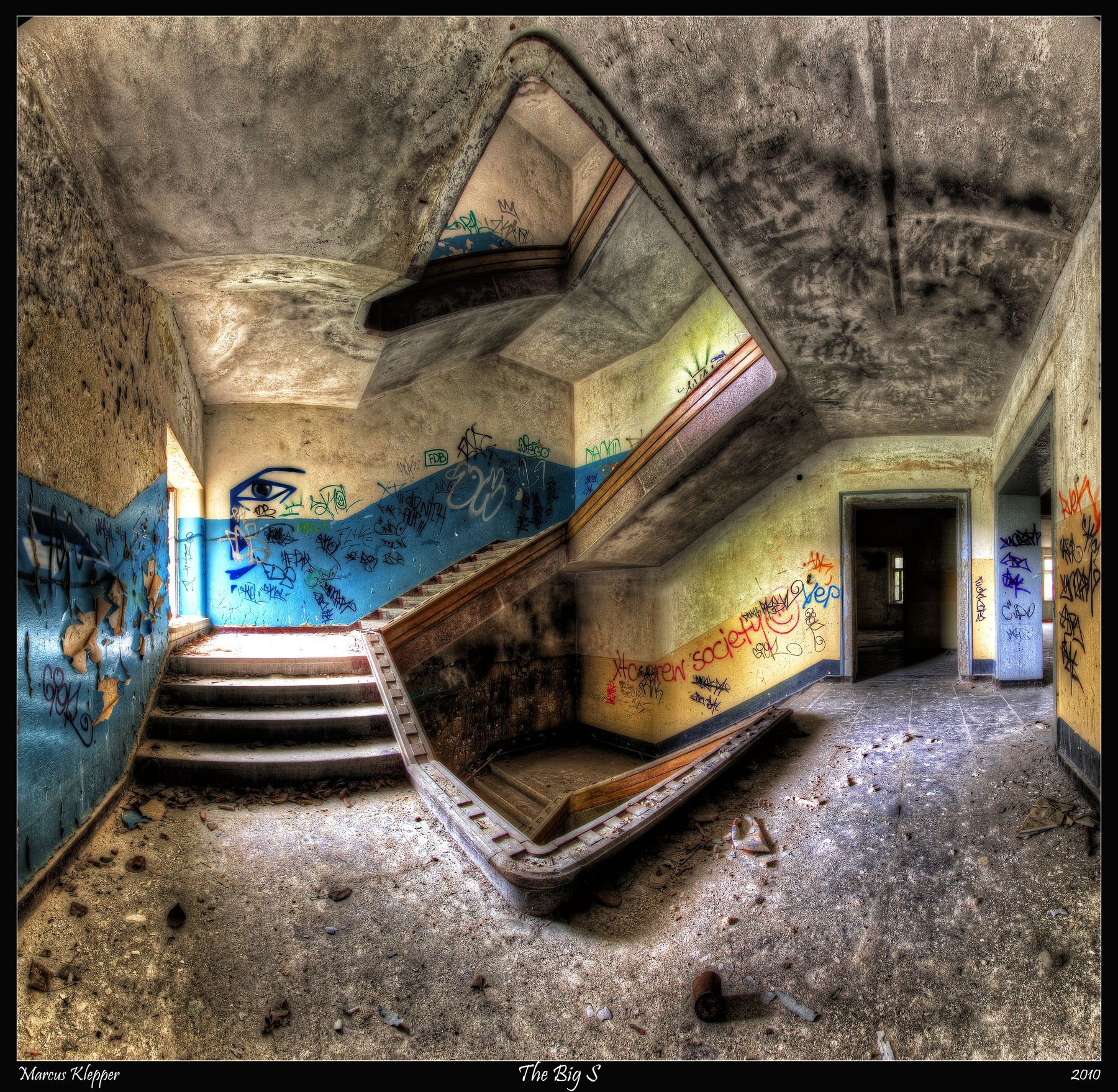 urban HDR Photography fisheye HD Wallpaper