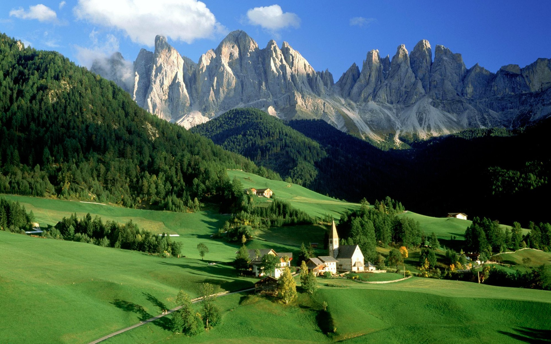 valleys Italy sud-tirol odle HD Wallpaper