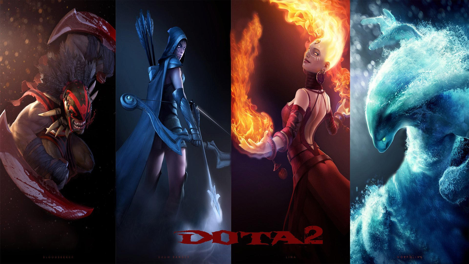 valve corporation Dota 2 HD Wallpaper