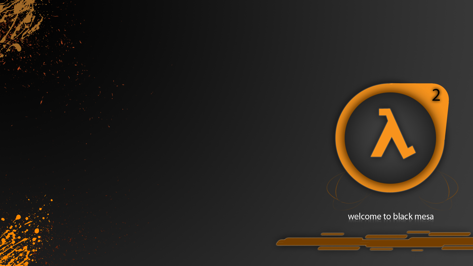 valve corporation minimalistic half-life HD Wallpaper