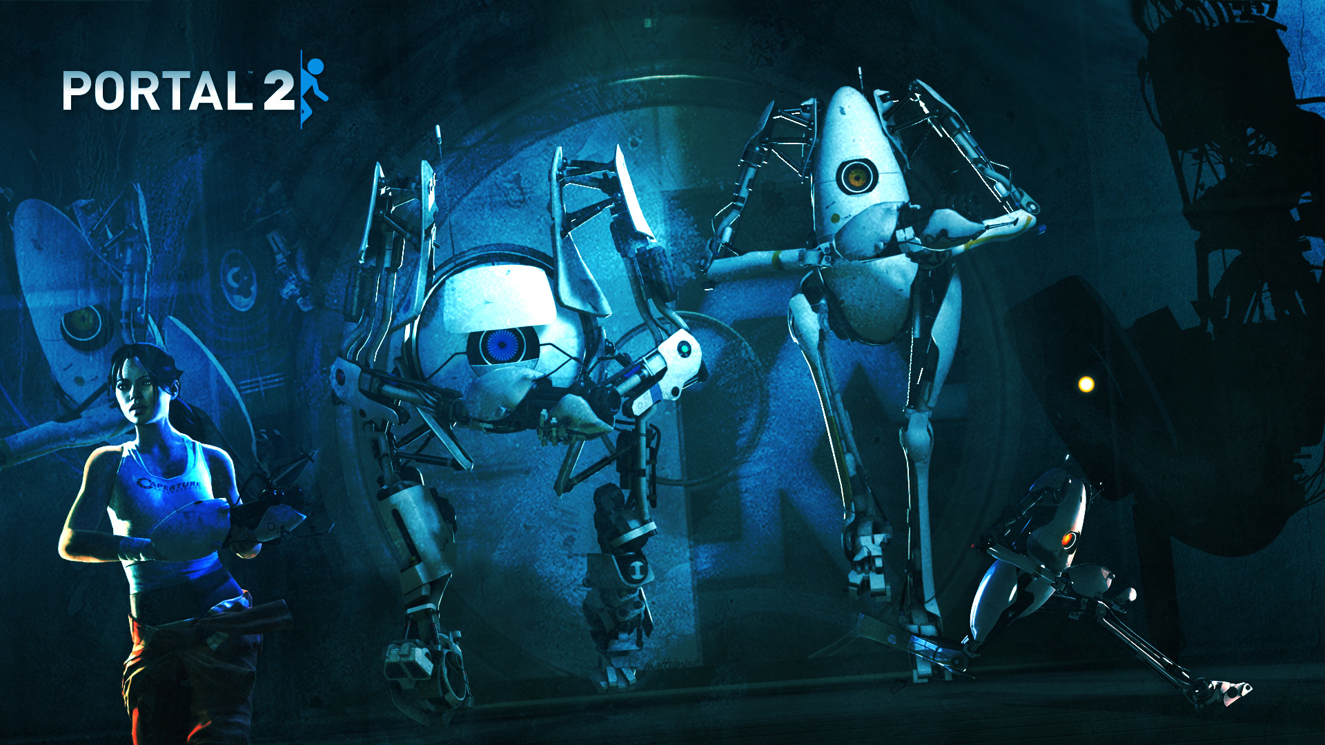 valve corporation portal 2 HD Wallpaper