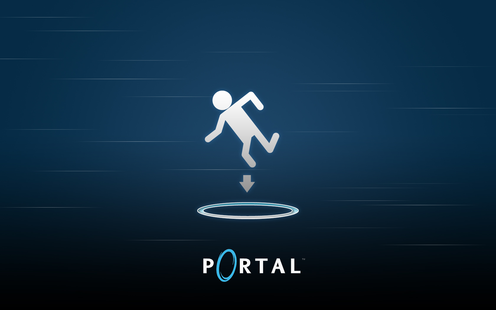 valve corporation Portal HD Wallpaper
