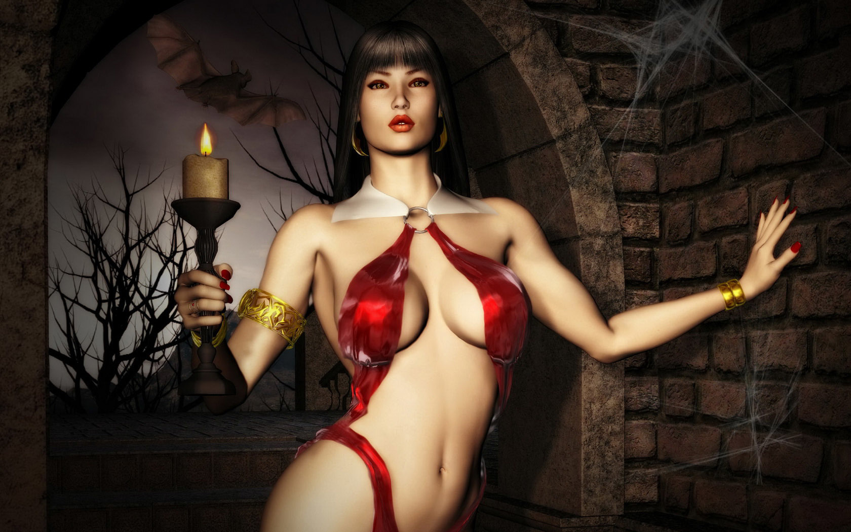 Vampirella HD Wallpaper