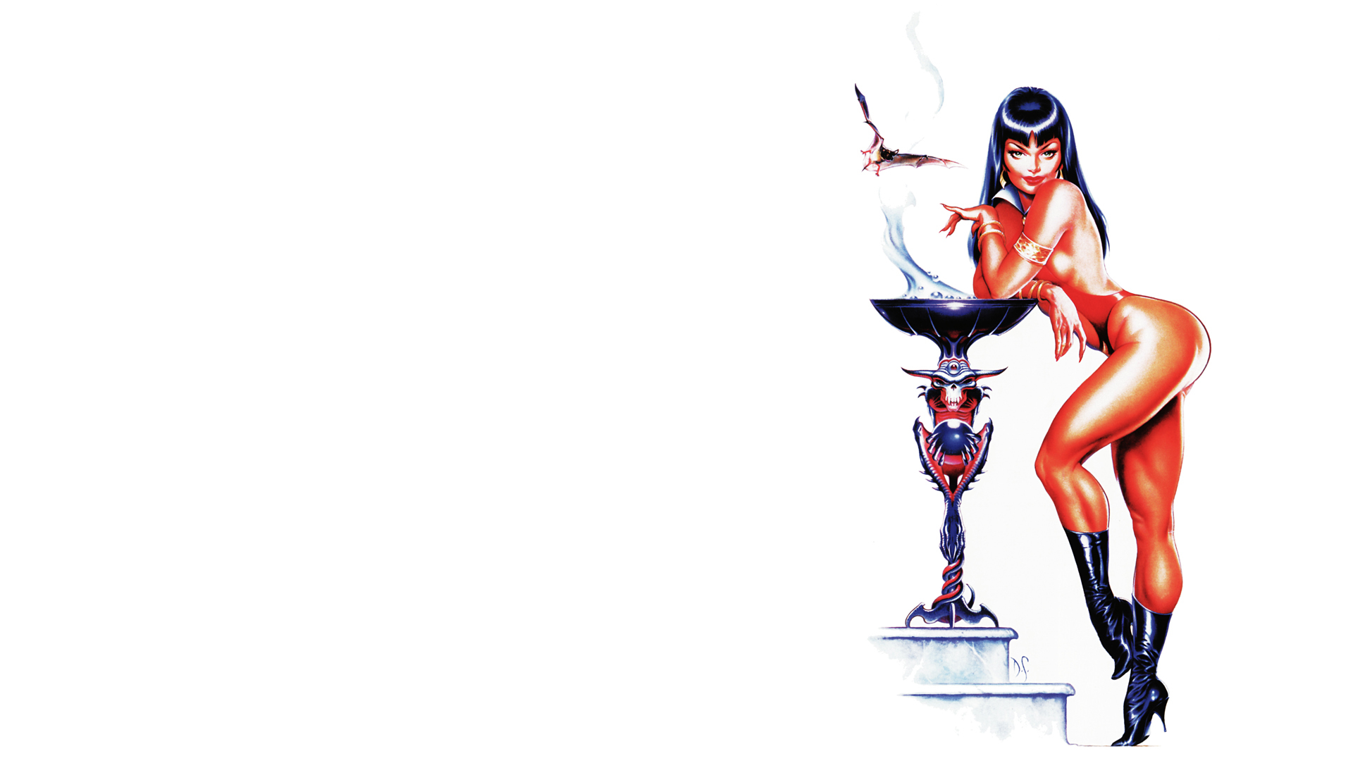 Vampirella Harris Comics HD Wallpaper