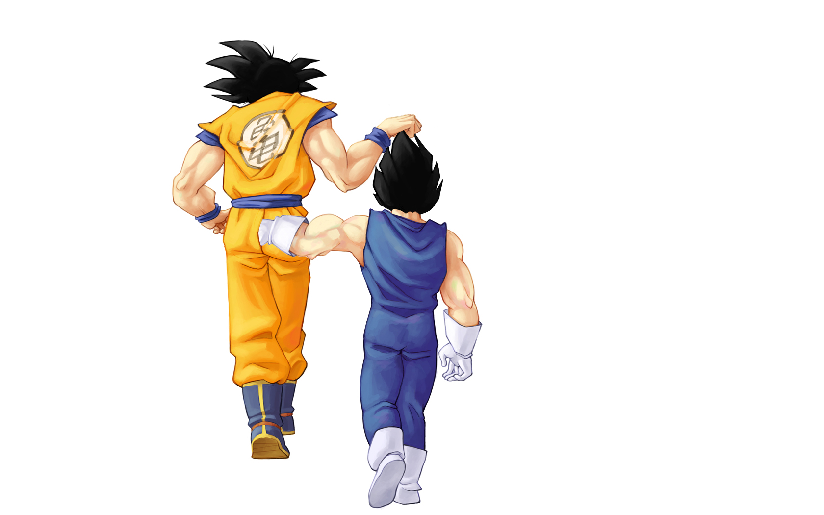 vegeta son goku Anime HD Wallpaper