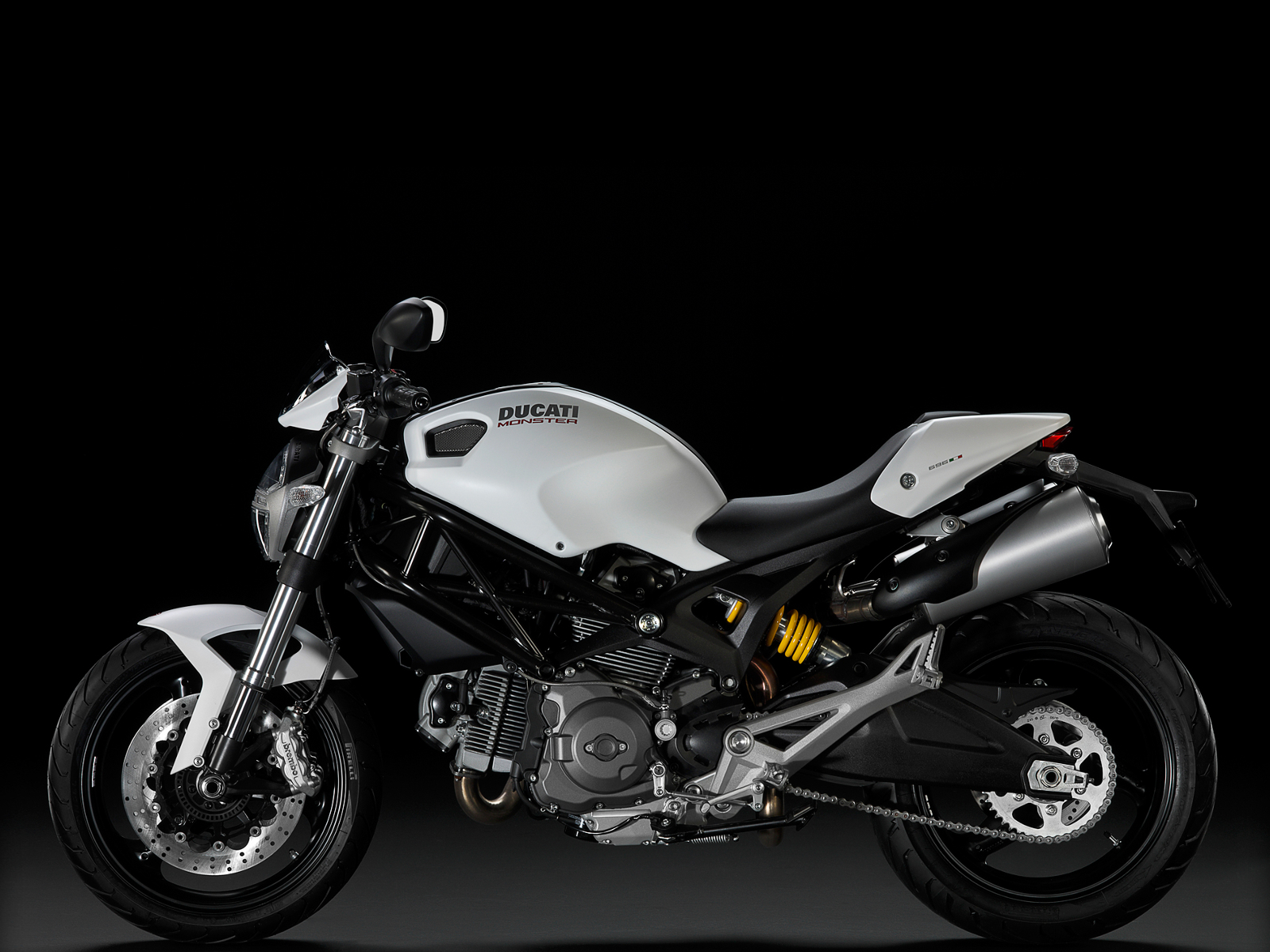 vehicles motorbikes Ducati monster HD Wallpaper