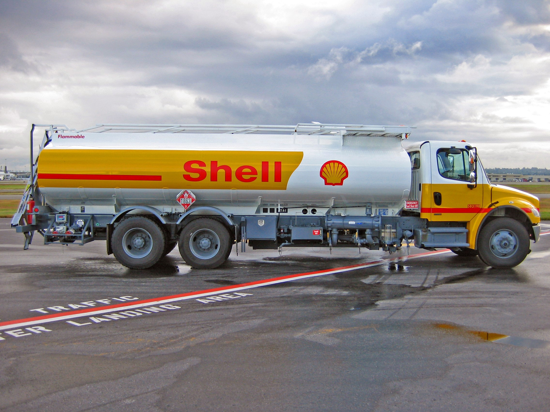 vehicles Shell Oil Company HD Wallpaper