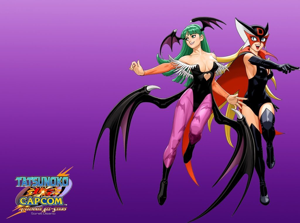 versus fighting Darkstalkers versus HD Wallpaper