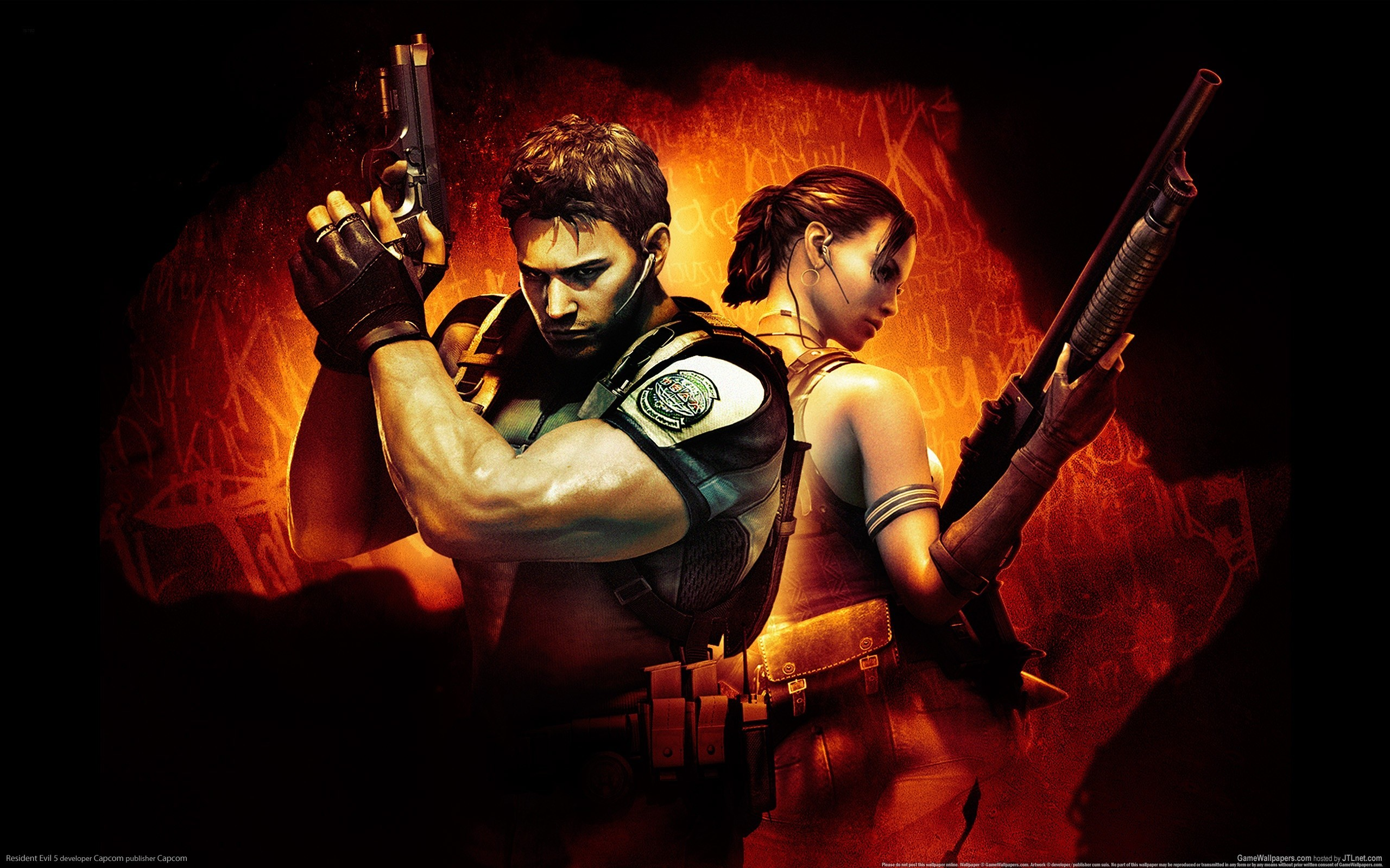 video games 3d Sheva HD Wallpaper
