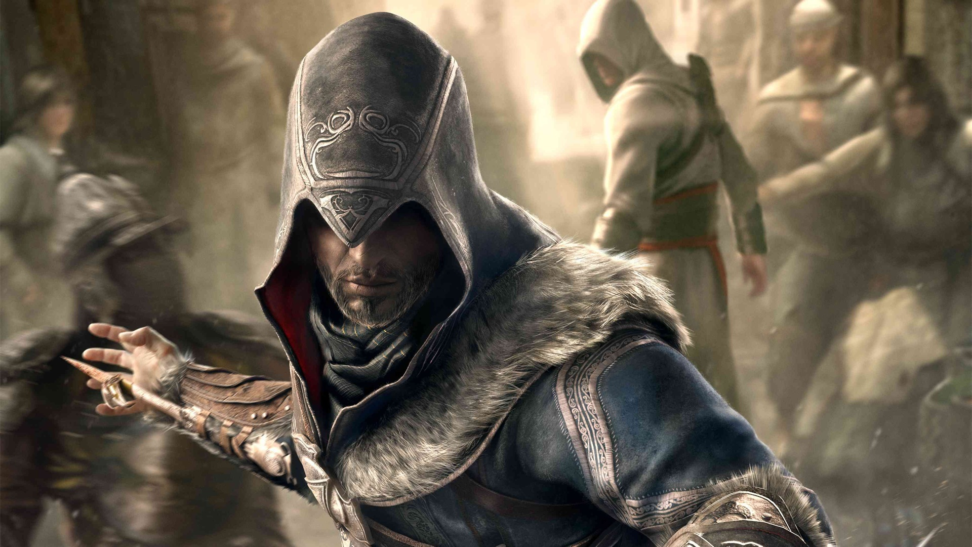video games Altair Ibn HD Wallpaper